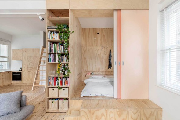 Flinders_Lane_Apartment-Clare_Cousins_Architects-1-590x393