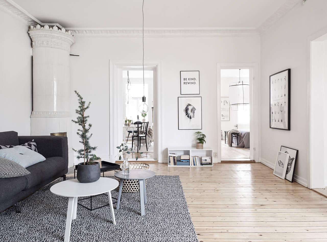 Int rieur scandinave premier tage for Interieur suedois