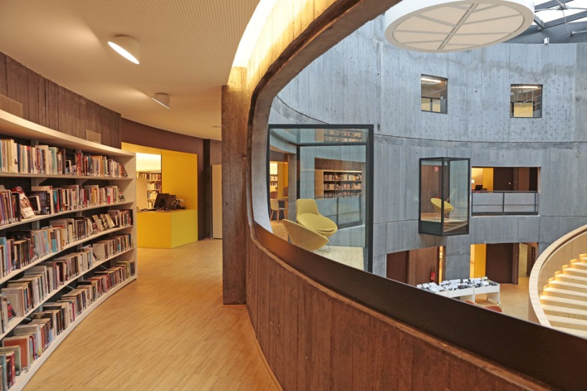 bibliotheque Niemeyer